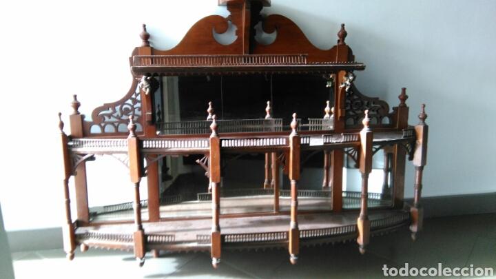 MUEBLE JUGUETERO ANTIGUO XVIII O XIX (Antigüedades - Muebles Antiguos - Repisas Antiguas)