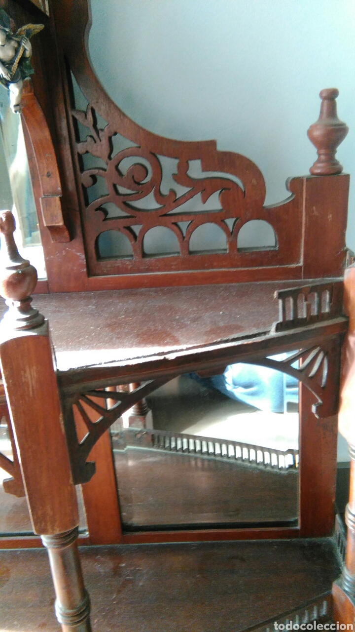 Antigüedades: Mueble juguetero antiguo XVIII o XIX - Foto 10 - 68324927