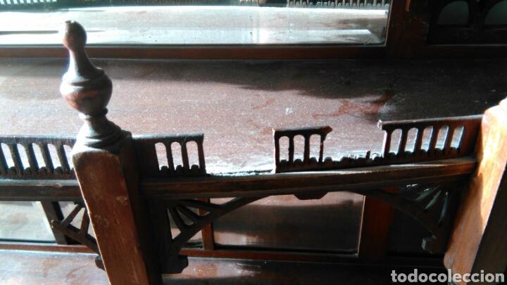 Antigüedades: Mueble juguetero antiguo XVIII o XIX - Foto 11 - 68324927