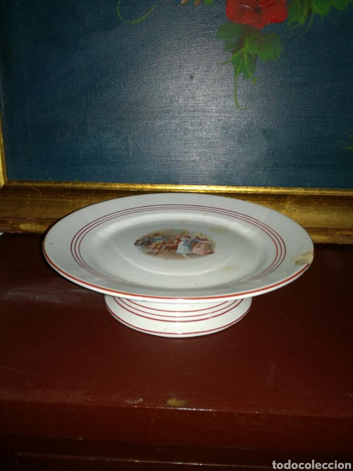 FRUTERO PICKMAN CARTUJA CON DEFECTO (Antigüedades - Porcelanas y Cerámicas - La Cartuja Pickman)