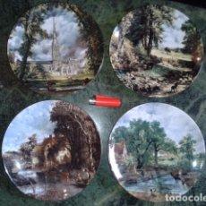 Antigüedades: LOTE DE PLATOS DECORATIVOS INGLESES. Lote 68386069