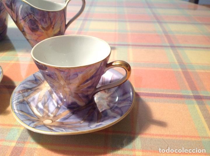 Antigüedades: ANTIGUO JUEGO DE CAFÉ. SANTA CLARA VIGO - Foto 5 - 98793756