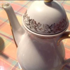 Antigüedades: ANTIGUO JUEGO DE CAFÉ. SANTA CLARA VIGO. Lote 68388513