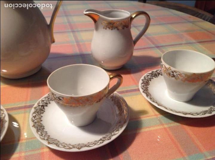 Antigüedades: ANTIGUO JUEGO DE CAFÉ. SANTA CLARA VIGO - Foto 4 - 68388513