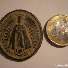 Oggetti Antichi: GRANDE Y RARISIMA MEDALLA VIRGEN DEL OLVIDO IGLESIA SAN FRANCISCO MADRID S.XVII. Lote 68425585