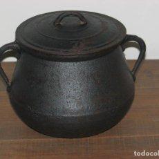 Antigüedades: CALDERO DE HIERRO COLADO. Lote 68428061