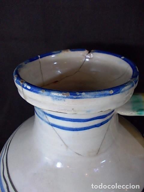 Antigüedades: ANTIGUO CÁNTARO EN CERÁMICA DE TALAVERA - Foto 2 - 68457949