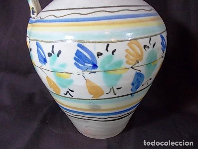 Antigüedades: ANTIGUO CÁNTARO EN CERÁMICA DE TALAVERA - Foto 6 - 68457949