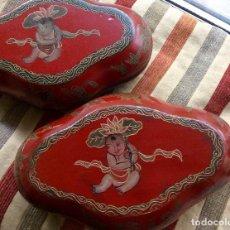 Antigüedades: CAJAS ANTIGUAS ORIENTALES, CHINAS. Lote 68475725