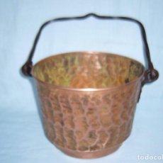 Antigüedades: CALDERO COBRE - OLLA - PUCHERO . Lote 68483517