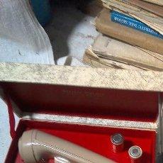 Antigüedades: LARINGÓFONOS Y AMPLIFICADOR DE VOZ. Lote 68499365