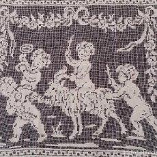 Antigüedades: ANTIGUO ENCAJE MODERNISTA - PIEZA DE COLECCIÓN. Lote 68530217