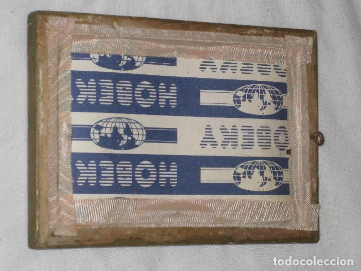Antigüedades: Antiguo marco de madera con foto - Foto 2 - 68557049
