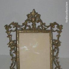 Antigüedades - Antiguo marco de bronce - 68572353