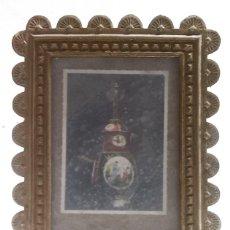 Antigüedades: BONITO MARCO DE BRONCE PARA RETRATOS. Lote 68591157