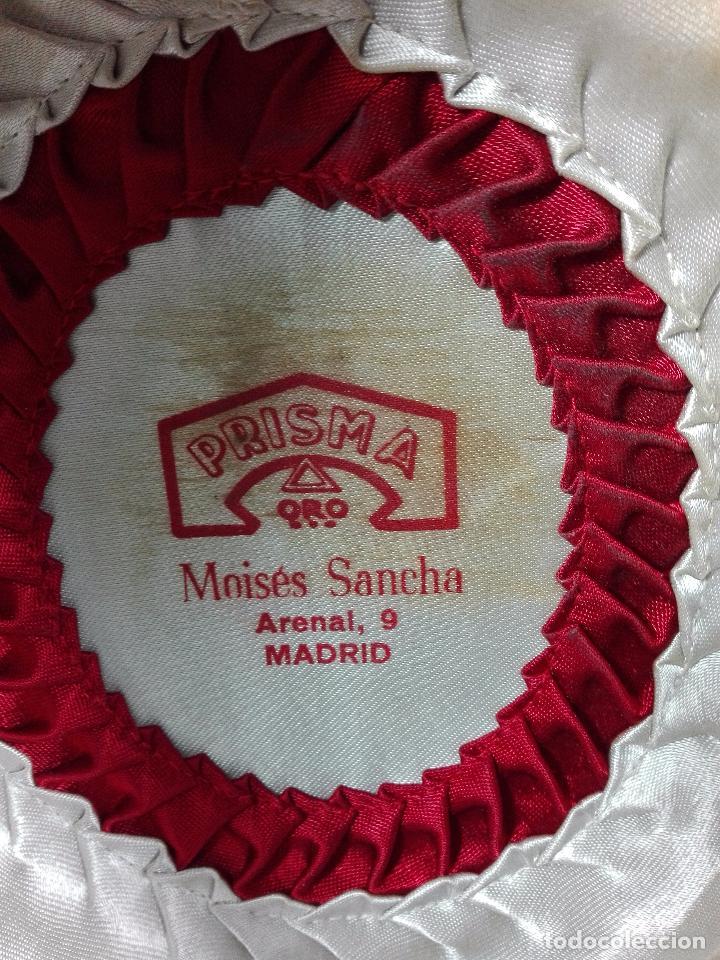 Antigüedades: BONITO SOMBRERO FLAMENCO DE LA CASA MOISES SANCHA - ARENAL, 9 - MADRID - PRISMA ORO - TALLA 57 - - Foto 5 - 68694241