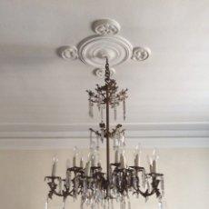 Antigüedades: LAMPARA CALAMINA. Lote 68704599