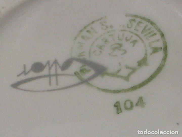 Antigüedades: jarra. La Cartuja Sevilla - Foto 6 - 68725945