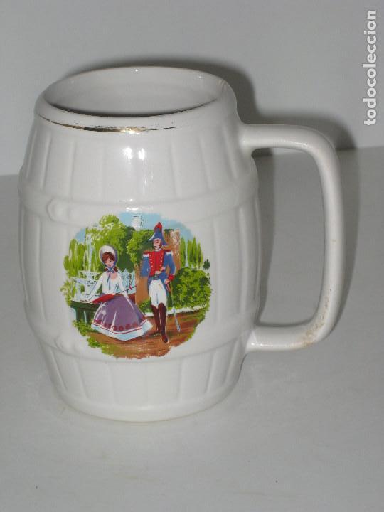JARRA. LA CARTUJA SEVILLA (Antigüedades - Porcelanas y Cerámicas - La Cartuja Pickman)