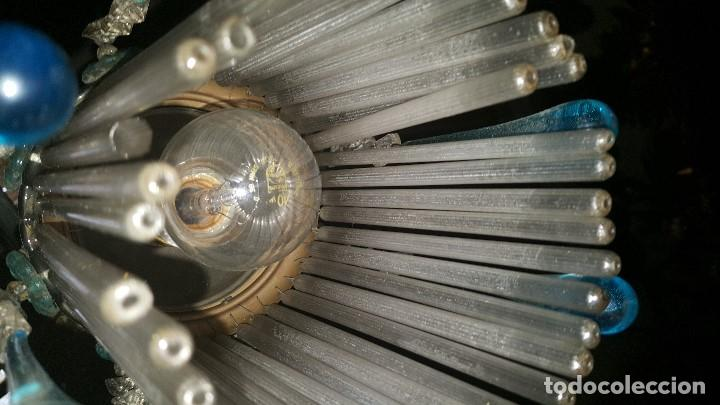 Antigüedades: LAMPARA CRISTAL - Foto 3 - 72662611
