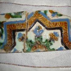 Antigüedades: AZULEJO TRIANA SIGLO XVI. Lote 68791945