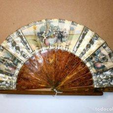 Antigüedades: ABANICO ISABELINO DE CAREY. Lote 68897533