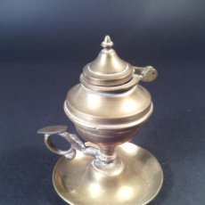 Antigüedades: ANTIGUO CANDIL EN BRONCE. S.XIX.. Lote 68942221