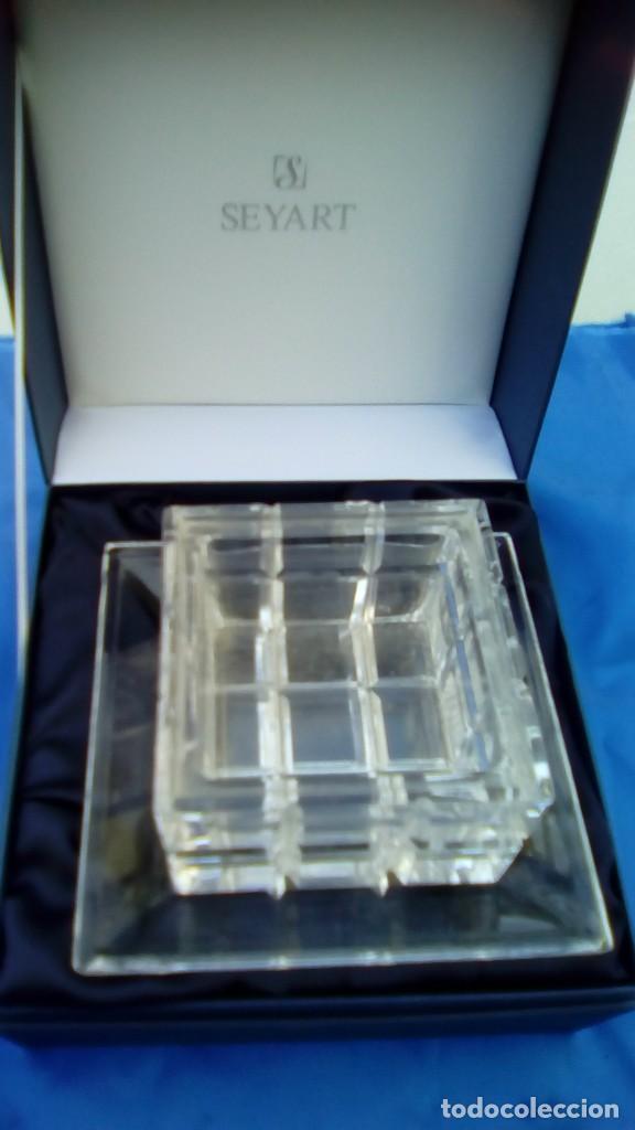 Antigüedades: Juego cristal italia murano vintage - Foto 2 - 68983481