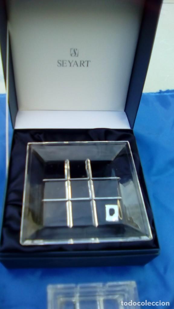 Antigüedades: Juego cristal italia murano vintage - Foto 3 - 68983481
