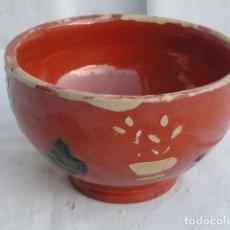 Antigüedades: ANTIGUO BOL CUENCO DE CERÁMICA.. Lote 69003849