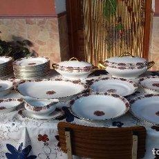 Antigüedades: ANTIGUA VAJILLA DE LIMOGES. PRECIOSA. Lote 69004817