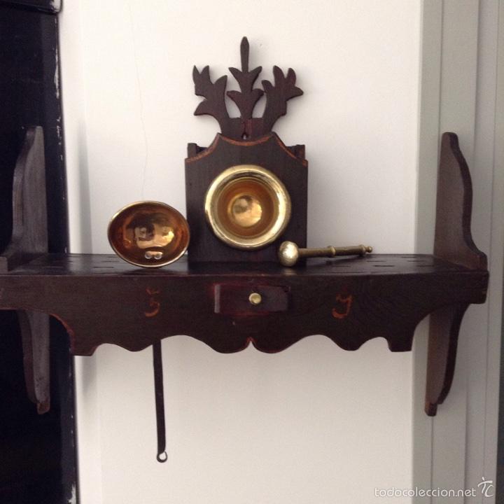estante de madera para cocina antigedades muebles antiguos repisas antiguas
