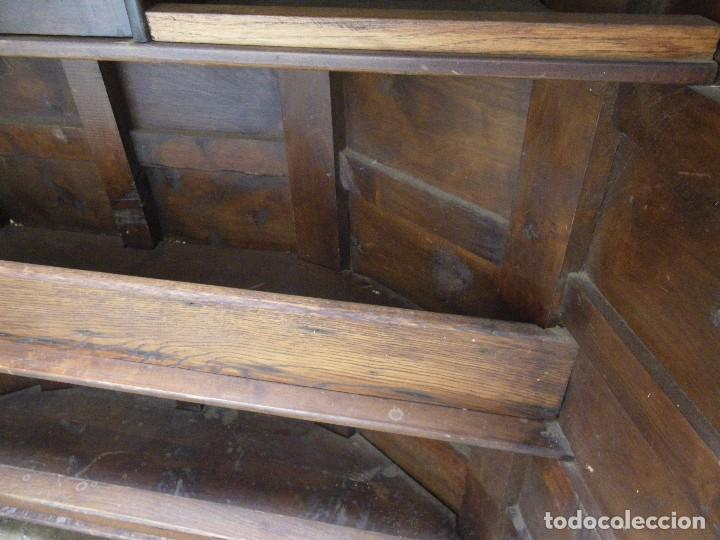 Antigüedades: ANTIGUO MUEBLE TAQUILLA O BAR , EN MADERA MACIZA , VERR - Foto 8 - 69068541