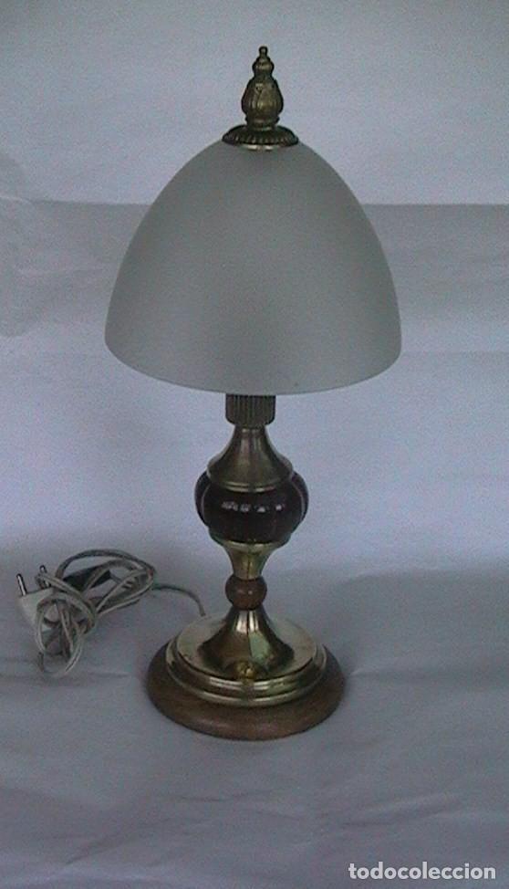 LÁMPARA ANTIGUA SOBREMESA (Antigüedades - Iluminación - Lámparas Antiguas)
