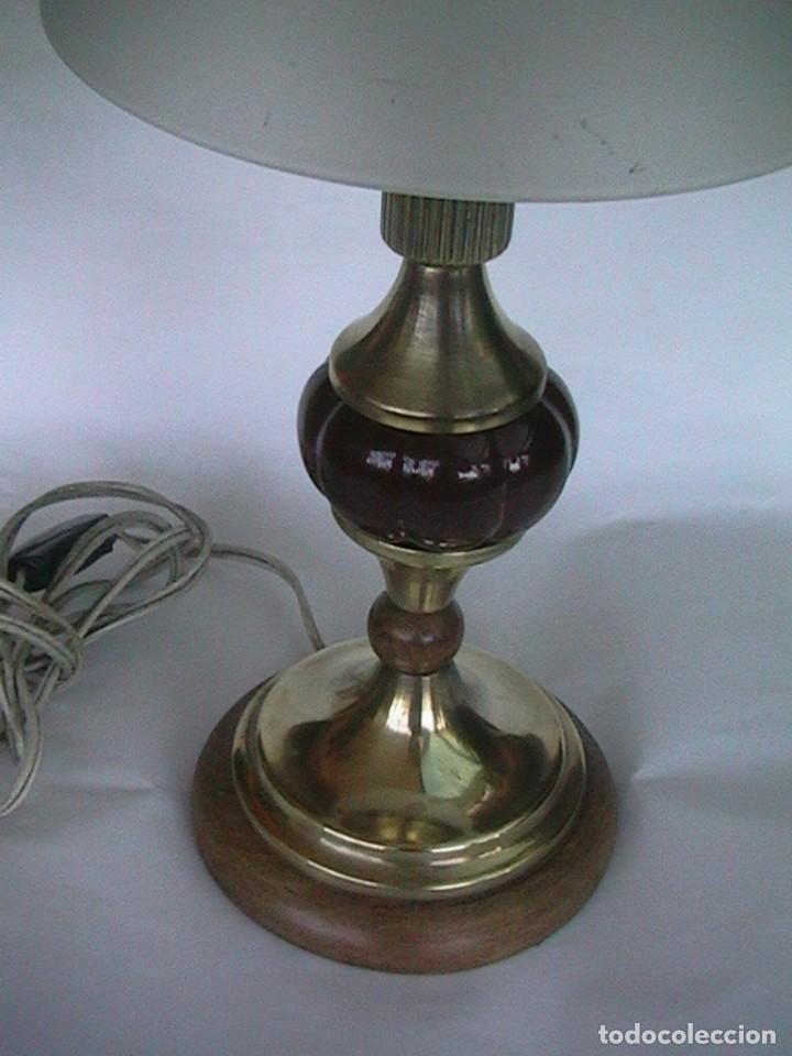 Antigüedades: lámpara antigua sobremesa - Foto 2 - 69075181