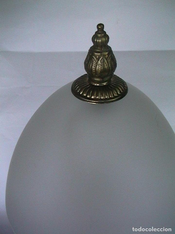 Antigüedades: lámpara antigua sobremesa - Foto 3 - 69075181
