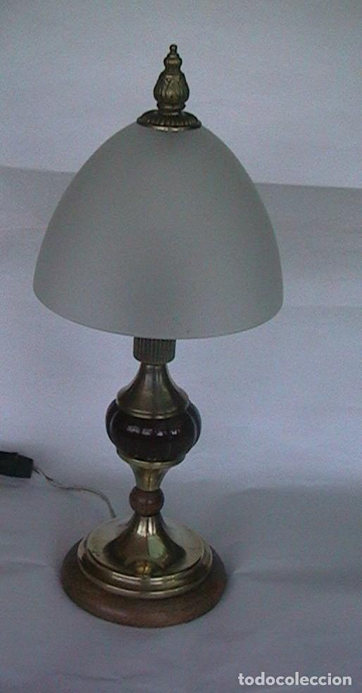 Antigüedades: lámpara antigua sobremesa - Foto 6 - 69075181