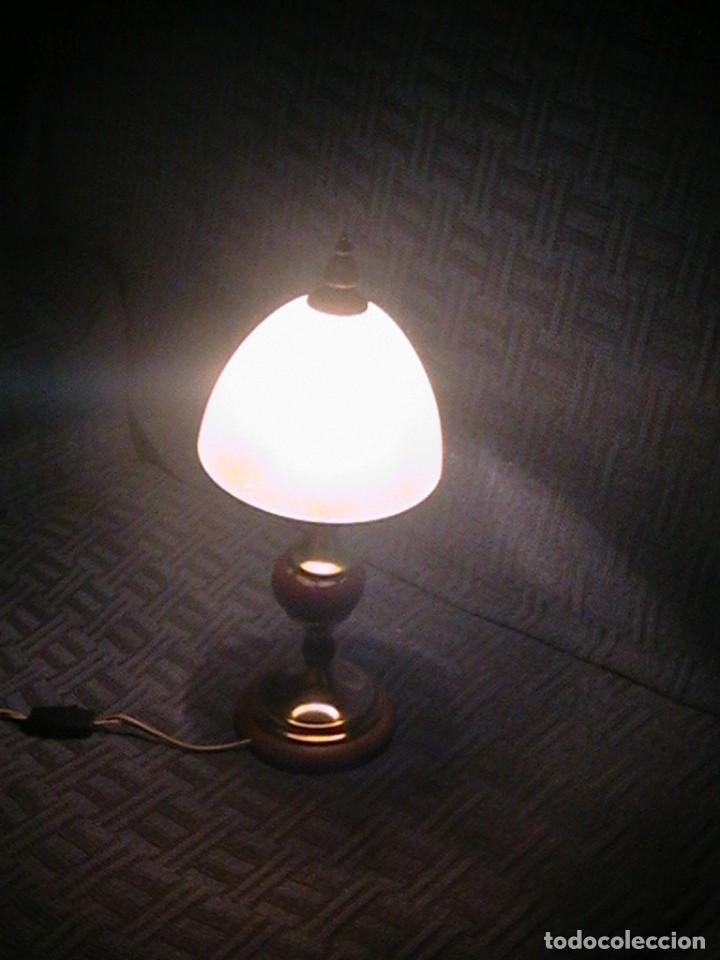 Antigüedades: lámpara antigua sobremesa - Foto 7 - 69075181