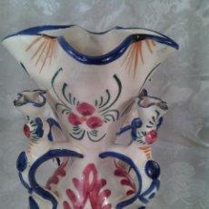 Antigüedades: JARRA DE NOVIA. MANISES.VALENCIA. PRIMER CUARTO DEL S. XX. PORCELANA PINTADA A MANO.. Lote 69116425