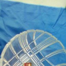 Antigüedades: FRUTERO CRISTAL TALLADO A MANO BUENA CALIDAD ALEMAN. Lote 69126349
