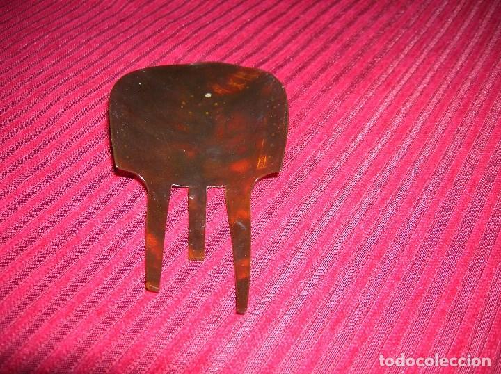 Antigüedades: Preciosa y original peineta. - Foto 2 - 69243037