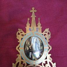 Antigüedades: ANTIGUA BENDITERA DE IGLESIA. Lote 69256599