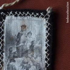 Antigüedades: ANTIGUO ESCAPULARIO CARMELITA EN TELA NUESTRA SEÑORA MONTE CARMELO CIRCA 1910. Lote 69259853