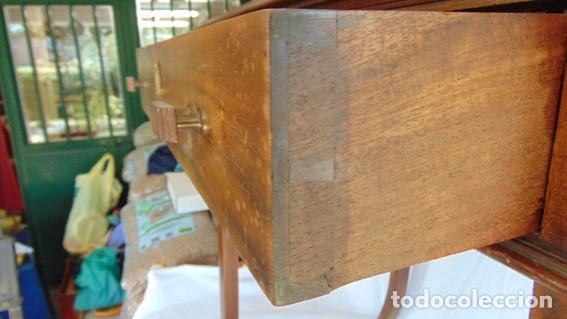 Antigüedades: mesa Art Nouveau de nogal - Foto 5 - 69268169