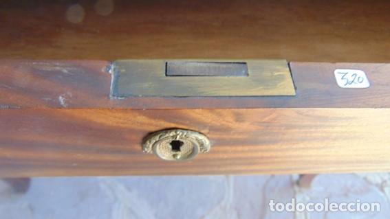 Antigüedades: mesa Art Nouveau de nogal - Foto 6 - 69268169