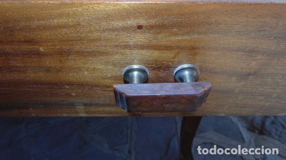 Antigüedades: mesa Art Nouveau de nogal - Foto 7 - 69268169