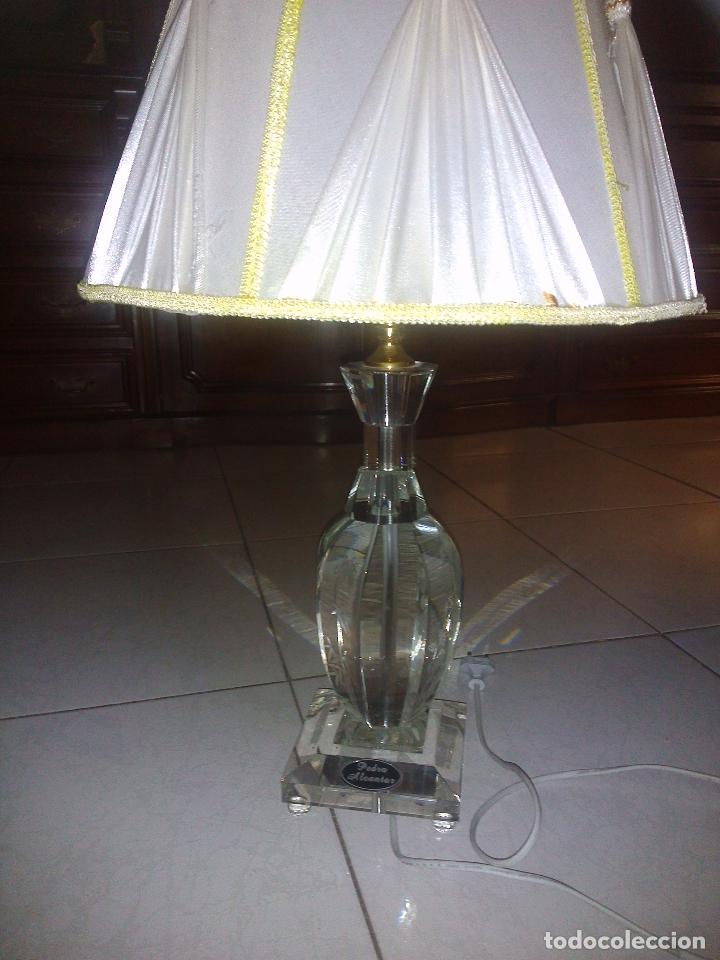 Antigüedades: Lámpara de cristal.65 cm alta.(Pedro Alcántara)Holanda. - Foto 7 - 69271493