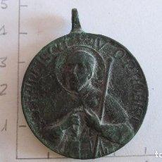 Antigüedades: MEDALLA SAN FRANCISCO Y LA VIRGEN. Lote 69282601