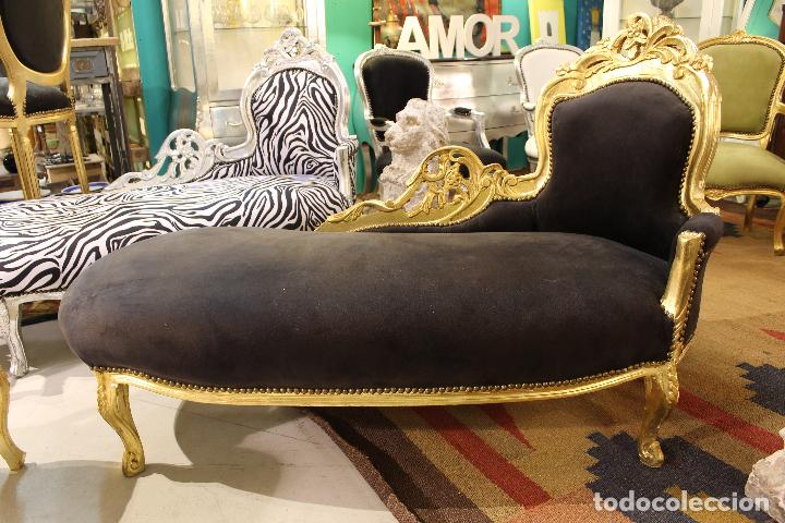 Direct Sale Sold Chaise Longue Estilo Rococó 57572496 Through srdCBhxtQ