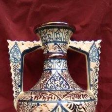 Antigüedades: CERAMICA DE REFLEJOS, MANISES (VALENCIA) AÑOS 98. Lote 69361349